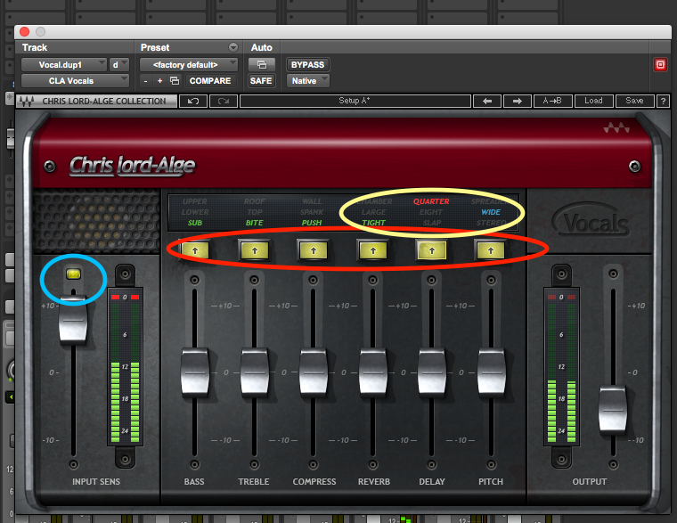 A little trick with the Waves CLA plugins - Recording