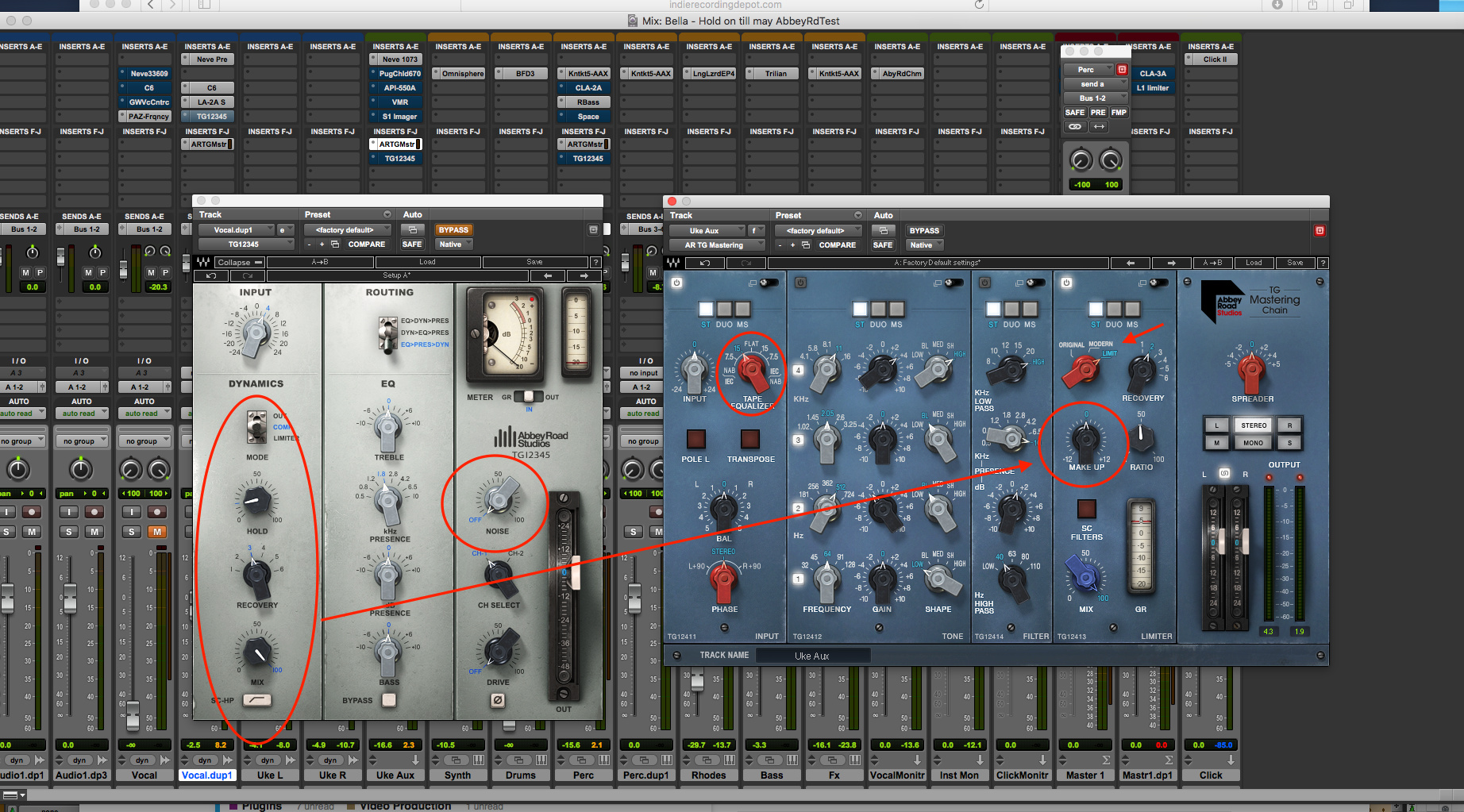 Abbey Road Tg Mastering Chain Why We Modeled The Tg12410 Youtube