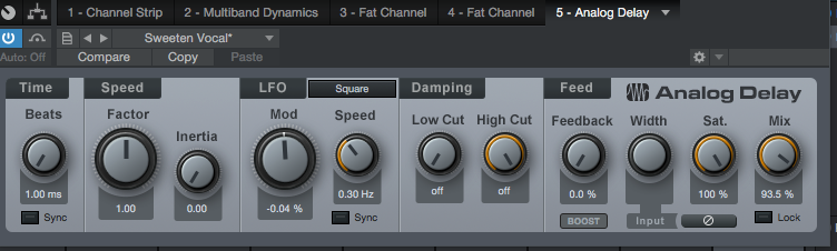 Studio One - struggling with stock plugins in a real life