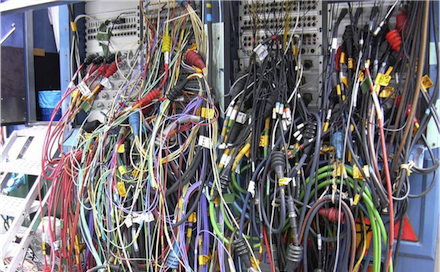 tips and gadgets for managing cable clutter in your recording studio rh indierecordingdepot com recording studio power wiring recording studio wiring diagram