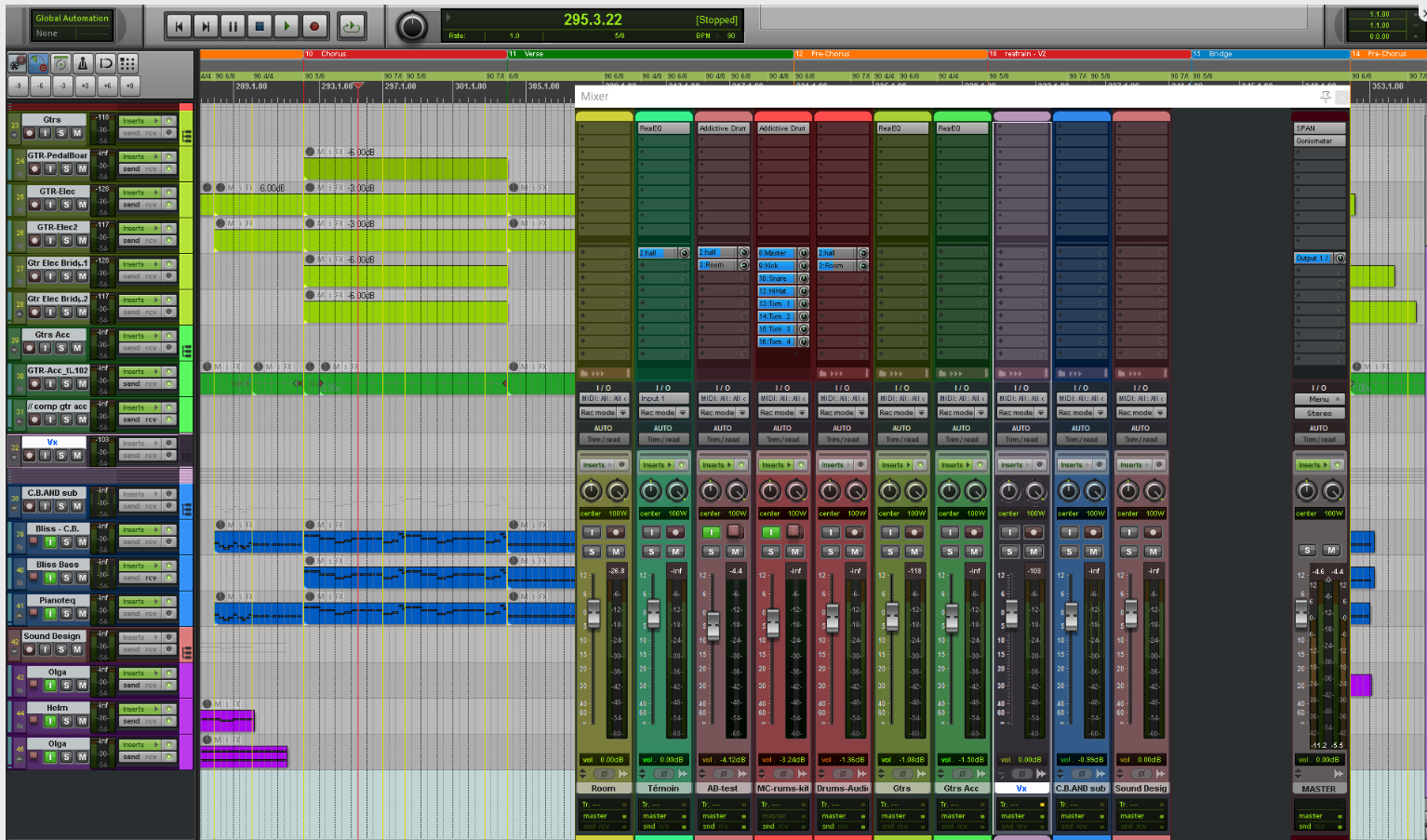 Anyone still using a Pro Tools theme in Reaper? - Recording