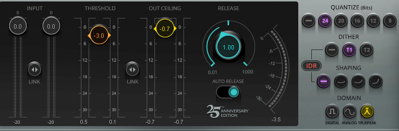 DAW says peaks are +0 3, but true peaks are -0 6? SOLVED